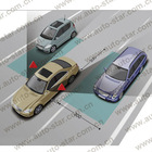 F0254 easy installation car blind spot detection system