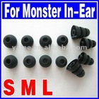 EarBuds Tips for Monster In-ear Headphone 12pcs set S M L O-830