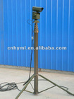 4.5m small portable lightweight camera pole and telescopic CCTV mast tower