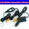 DC12V 2.4Ghz Wireless Transmitter & Receiver for RCA Camera & Monitor