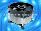 Intel 775 CPU cooler with copper core heatsink HF-522
