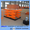 material scissor lift platform with 2tons