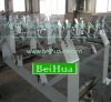 Steel supporting beam for belt conveyor