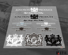 JP Transparent kit cool car stickers /3 M back glue/Door-to-door delivery