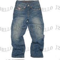 kids jeans 100% cotton long indigo pants fancy washed guarateed NEW