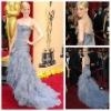 Stylish Strapless Mermaid Tulle Celebrity Dresses 2012