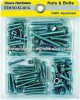 100PCS Nuts&Bolts Kits