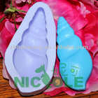 R1033 Valentine's gift silicone sea molds zibo nicole silicone molds for soap silicone rubber handmade soap molds