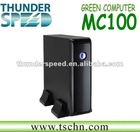 Mini PC Thin Client with HDMI AMD E350 Dual Core 1.6GHz CPU 2GB RAM 8GB SSD HDMI DVI Windows XP/Windows 7/ Linux