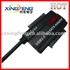 USB3.0 to SATA HDD Adapter support 2 pieces SATA HDD
