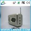 hand crank dynamo flashlight radio FM LMD-F12