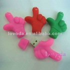 Palm shaped USB Flash Drive / PVC USB Flash Drive/ 3D usb flash drive LFN-207