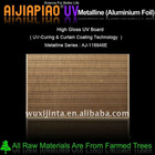 High gloss UV board - Metallic film laminated MDF