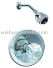 upc brass handle and spout zinc arm shower faucet