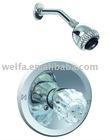 upc brass handle and spout zinc arm shower faucet