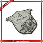 Customized embossed Leather patch for garment ,jeans