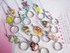 plastic pendants,soft plastic pendant,plastic square pendants