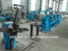 Flat bar chamfering and straightening and cut to length line