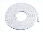 Nomex fiber packing with silicone rubber core
