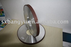 Plain cbn grinding wheel abrasive for gun drill