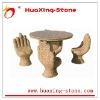 yard stone desk