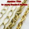 Jewelry Aluminium Chain Links for Necklace and Bracelet