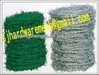 PVC coated barbed wire (Shengjia)