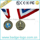 souvenir cheap medals and ribbons made by metal