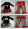 Valentine's day girls heart pettidress heart pettiskirt heart outfit