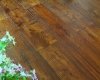 Chinese teak hand scraped floors