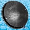 SMC Round Composite Manhole Cover BS Standard /frp manhole
