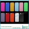net hole design case cover plastic hard case for iphone 5G