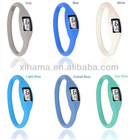 Fashion Anion Negative Ion Silicone Sports Led Bracelet Watch