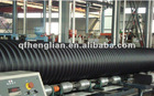 HDPE twin wall corrugated pipes