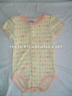 knitted cotton baby rompers