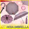 "21""x8k manual open folding umbrella with star prinitng"