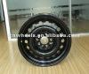 cheap black steel wheels use in winter