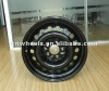 cheap black steel wheels use in winter