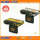 180 degree HD car black box camera with GPS, radar