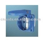 Schuko Socket (SY11011) /cee industrial plug/industrial spark plug/industrial power plug