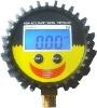 PG 808 digital tire pressure gauge in industrial field