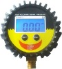 PG 808 digital tire pressure gauge in industrial field