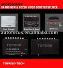 Car 1 To 8 Video Signal Booster/Split Amplifier DVD/TV