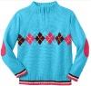 Computer jacquard children's sweater