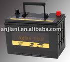 maintenance free car battery(JIS standard) 12v80ah