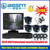 2012 HOT sales 4CH with 1PC 4CHDVR,4PCS SONY CCD CAMERA,1PC 14 MONITOR,1PC POWER, 4PCS CABLE SONY HAD CCD 420TVL BS-T04F3