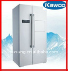 560L side by side combination refrigerator with LCD reveal