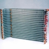 Evaporator and condenser for air-conditioner
