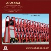 New selling electric retractable gate with remote control