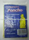 ST-9008 emergency poncho,rain poncho,pe poncho